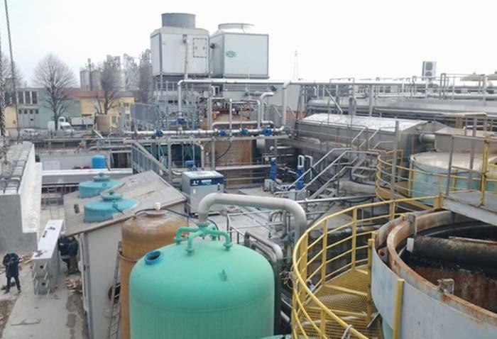 Impianto depurazione Coelsanus – Sossano (VI)